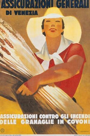 Assicurazioni Generali di Venezia (Poster for Crop Insurance)
