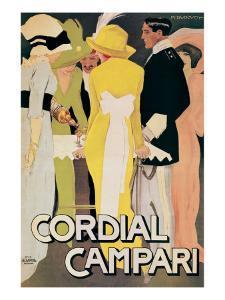 Cordial Campari by Marcello Dudovich
