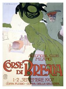 Corse di Brescia by Marcello Dudovich