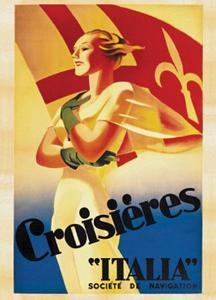 Croisieres Italia, c.1938 by Marcello Dudovich