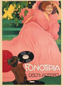Fonotipia, c.1906 by Marcello Dudovich