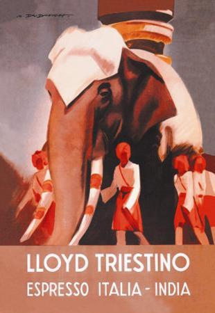 Lloyd Triestino Espresso Itali India