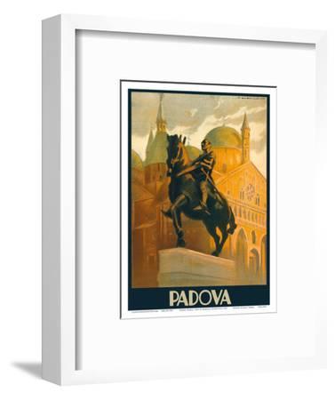 Padova (Padua), Italy - Equestrian Statue of Gattamelata - St. Antonio Basilica