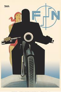 FN Motorcycles - Fabrique Nationale de Herstal by Marcello Nizzoli