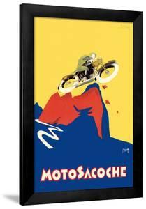 Motosacoche 346cc Swiss Motorbike by Marcello Nizzoli