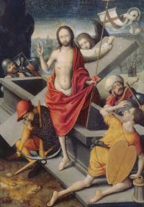 Resurrection, Bargello National Museum, Florence by Marcellus Coffermans