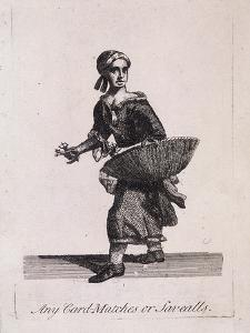 Any Card Matches or Savealls, Cries of London, C1688 by Marcellus Laroon