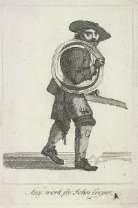 Any Work for John Cooper, Cries of London, C1688 by Marcellus Laroon