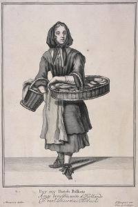 Buy My Dutch Biskets, Cries of London, 1688 by Marcellus Laroon