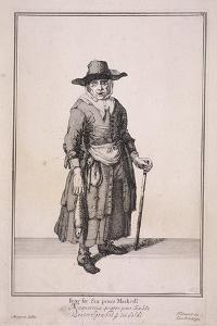 Four for Six Pence Mackrell, Cries of London, (1688) by Marcellus Laroon