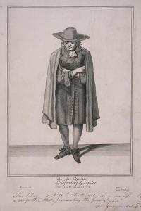 John the Quaker, Cries of London by Marcellus Laroon