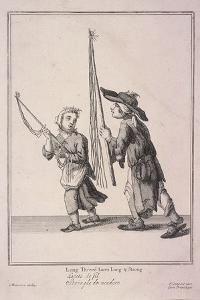 Long Threed Laces Long and Strong, Cries of London, 1688 by Marcellus Laroon