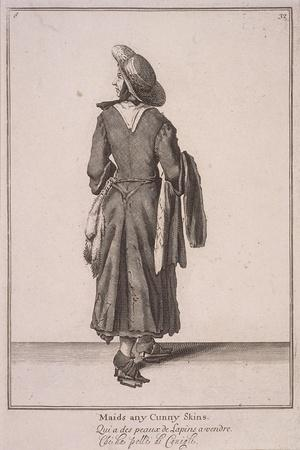 Maids Any Cunny Skins, Cries of London, 1688