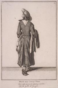 Maids Any Cunny Skins, Cries of London, 1688 by Marcellus Laroon