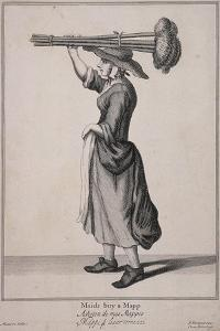 Maids Buy a Mapp, Cries of London by Marcellus Laroon