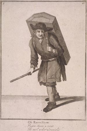 Oh Raree Show, Cries of London, (1688)