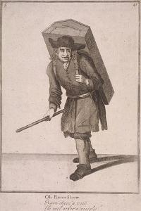 Oh Raree Show, Cries of London, (1688) by Marcellus Laroon