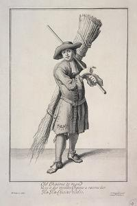 Old Chaires to Mend, Cries of London, 1688 by Marcellus Laroon