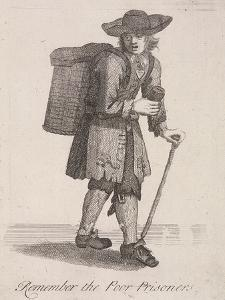 Remember the Poor Prisoners, Cries of London, C1688 by Marcellus Laroon