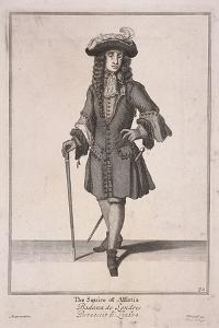 The Squire of Alsatia, Cries of London, (1688) by Marcellus Laroon
