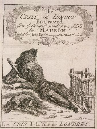 Title Page to Cries of London