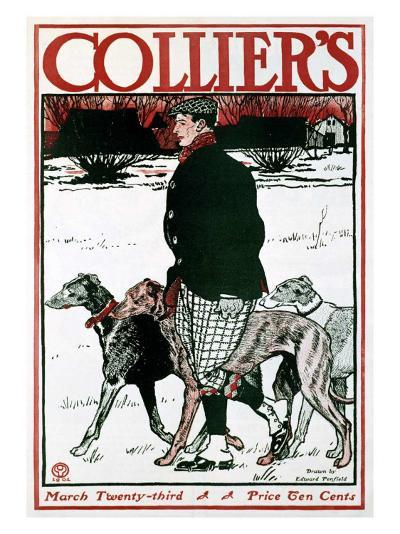 March Colliers Greyhound--Giclee Print