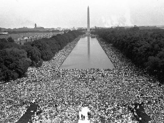March on Washington--Photographic Print