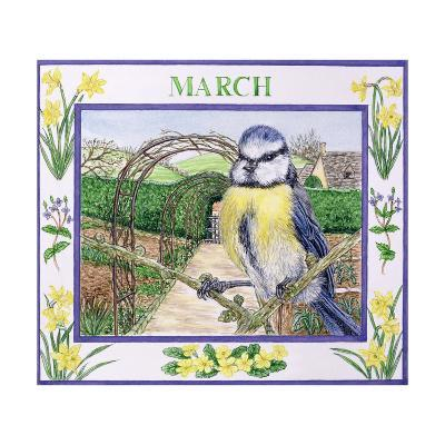 March-Catherine Bradbury-Giclee Print