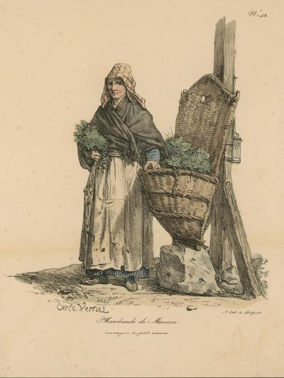 Marchand De Mouron-Antoine Charles Horace Vernet-Giclee Print