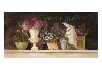 Marche Antica Vignette-Angela Staehling-Art Print