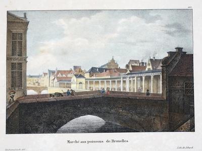 Marche Aux Poissons De Bruxelles, C.1895--Giclee Print