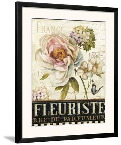 Marche de Fleurs III-Lisa Audit-Framed Art Print