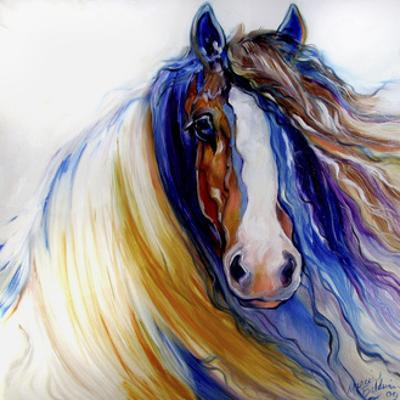 Gypsy Vanner Rouge by Marcia Baldwin