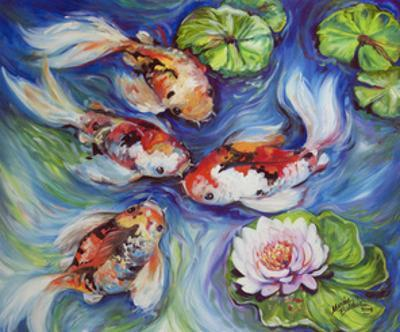 Happiness Koi Dance by Marcia Baldwin