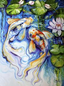 Koi Koi and Lily by Marcia Baldwin