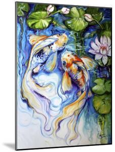 Koi Koi and Lily by Marcia Baldwin