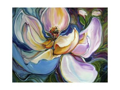 Sweet Maganolia Modern Floral Abstract