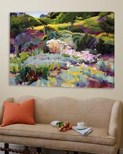 Hillside Garden by Marcia Burtt