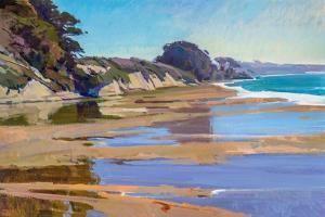 October High Tide by Marcia Burtt