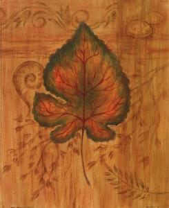 Autumn Leaf II by Marcia Rahmana