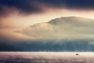 Dawn on the Lake by Marcin Sobas