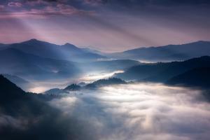 Sunrise Rays by Marcin Sobas
