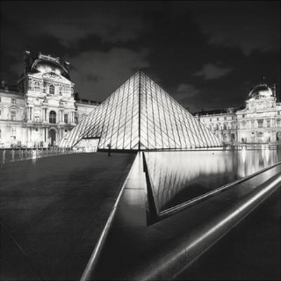 The Louvre, Study 4, Paris, France by Marcin Stawiarz