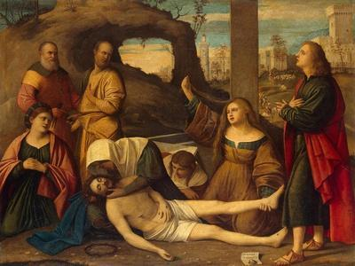 The Lamentation over Christ, 1527