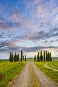 Orcia Valley, Tuscany, Italy. Tuscan Hills at Sunrise. by Marco Bottigelli