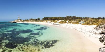 Rottnest Island, Fremantle, Perth, Western Australia, Australia. The Basin is the most popular swim