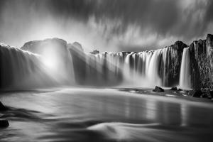 Godafoss Rays by Marco Carmassi