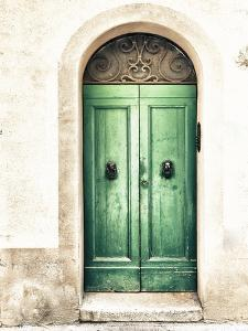 Green Door by Marco Carmassi