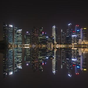 Singapore Skyline by Marco Carmassi