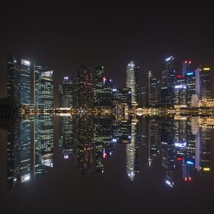 Singapore Skyline by Marco Carmassi